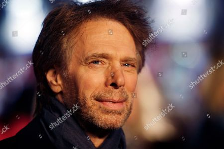 Jerry Bruckheimer U.S Producer Jerry Bruckheimer arrives for the UK Premiere of the film Confessions Of A Shopaholic at a cinema in Leicester Square, central London, Monday, Feb.16, 2009. The film is an adaptation of a series of novels by Sophie Kinsella and is directed by P. J. Hogan, with Isla Fisher playing the central character