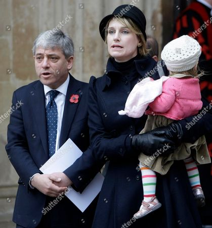 John Bercow Speaker of the House of Commons John Bercow with his wife Sally Illman daughter Jemima arrive for the Remembrance Day service at Westminster Abbey in London, . Bercow has insisted he did not order a £45,000 ( US$ 75,000, euro 50,300), revamp of his grace-and-favour apartment in the Palace of Westminster. Soon after being elected Speaker in June, Mr Bercow announced that £20,000 was being spent on refurbishment of the historic apartment to make it suitable for a family with three young children. But the British newspaper the Daily Telegraph reported that documents released under the Freedom of Information Act showed the true cost of the work was £45,581