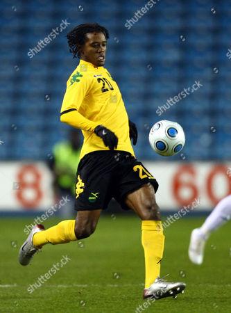 Jason Morrison Jamaica's Jason Morrison runs with the ball during their international friendly soccer match against Nigeria at the New Den, London