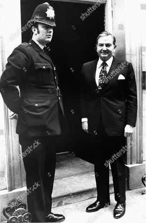 David Rockefeller David Rockefeller, Chairman of the Board of the Chase Manhattan Bank, is shown on arrival at 10 Downing Street, London, April 21, for talks with British Prime Minister Harold Wilson. Year Unknown