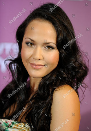 Stock Photo of Ankie Beilke Schauspielerin Ankie Beilke aus dem Film Wickie am Dienstag, 20. Oktober 2009, auf dem roten Teppich zum Deutschen Comedy Preis 2009 in Koeln, Nordrhein-Westfalen. (AP Photo/Martin Meissner) --- Actress Ankie Beilke on the red carpet for the German comedy award in Cologne, Germany