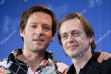 "Steve Buscemi, Florian Gallenberger Regisseur Florian Gallenberger, links, und der US-Schauspieler Steve Buscemi am Freitag, 6. Februar 2009, bei einer Pressekonferenz fuer den Film ""John Rabe"" bei der ""Berlinale"" in Berlin. Vom 5. bis 15. Februar 2009 finden die 59. Internationalen Filmfestspiele Berlin statt. (AP Photo/Eckehard Schulz) -----German director Florian Gallenberger, left, and US actor Steve Buscemi during a press conference for the German film ""John Rabe"" at the Berlinale in Berlin, Germany, . The 59th International Film Festival Berlin takes place in the German capital from Feb. 5 until Feb. 15, 2009"