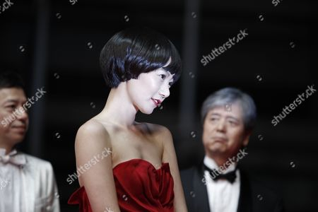 Bae Doo-Na South Korean actress Bae Doo-Na arrives for the screening of 'Kuki Ningyo' (Air Doll) at the 62nd International film festival in Cannes, southern France
