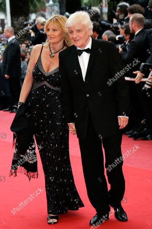 Jacques Perrin French actor and producer Jacques Perrin, foreground, arrives for the screening of the film 'Bright Star' during the 62nd International film festival in Cannes, southern France