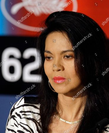 Maria Isabel Lopez Filipino actress Maria Isabel Lopez listens to questions during a press conference for the film 'Kinatay' at the 62nd International film festival in Cannes, southern France