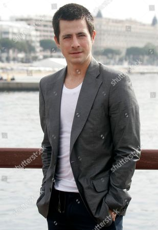 """Craig Olejnik Canadian actor Craig Olejnik poses for photographers during the MIPTV, an international entertainment content market, held annually in Cannes, southern, France . Olejnik presents the hit show """"The Listener"""