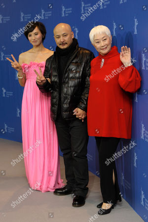 Monica Mo, Lisa Lu, Wang Quanan Chinese actresses Monica Mo, left, and Lisa Lu, right, join Chinese director Wang Quanan at the photo call for the film Apart Together at the International Film Festival Berlinale in Berlin, Germany, . The 60th International Film Festival, Berlinale, takes place from Feb. 11 to Feb. 21, 2010