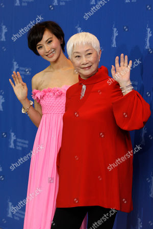 Monica Mo, Lisa Lu Chinese actresses Monica Mo, left, and Lisa Lu pose at the photo call for the film Apart Together at the International Film Festival Berlinale in Berlin, Germany, . The 60th International Film Festival, Berlinale, takes place from Feb. 11 to Feb. 21, 2010