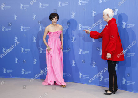 Monica Mo, Lisa Lu Chinese actresses Monica Mo, left, and Lisa Lu at the photo call for the film Apart Together at the International Film Festival Berlinale in Berlin, Germany, . The 60th International Film Festival, Berlinale, takes place from Feb. 11 to Feb. 21, 2010