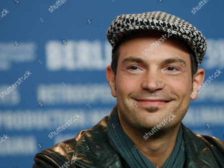 """Roger Cicero In this Feb. 12, 2009 file picture German actor and jazz singer Roger Cicero looks on during a news conference for the movie """"Hilde"""" at the Berlinale in Berlin, Germany. According to German news agency dpa, Cicero has died already, his management said Tuesday March 29, 2016. He was 45"""