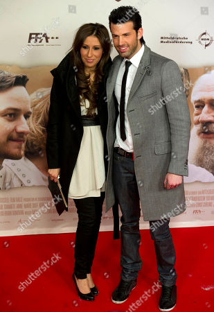 """Stock Picture of Senna Guemmour, Jay Khan German singer Senna Guemmour, left, and Jay Khan, right, arrive for the German Premiere of the movie """"The Last Station, in Berlin, Germany"""