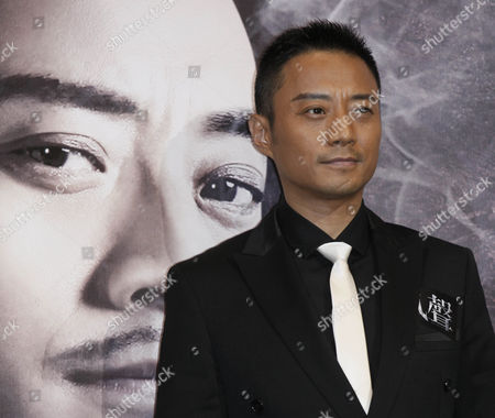 """Zhang Hanyu Chinese actor Zhang Hanyu poses during a news conference for his movie """"The Message"""" in Hong Kong"""