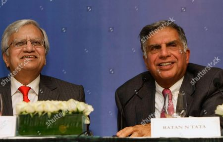 Ratan Tata, Ravi Kant Tata Sons Chairman Ratan Tata, right, speaks as Tata Motors Managing Director Ravi Kant looks on during a press conference prior to the launch event of the Tata Nano in Mumbai, India, . Tata Motors is launching its snub-nosed, US$2,000 Nano Monday in Mumbai, a vehicle meant to put car ownership within reach of millions of the world's poor. The Nano, starting at about 100,000 rupees (US$1,980), is 10.2 feet (3.1 meters) long, has one windshield wiper, a 623cc rear engine, and a diminutive trunk, according to the company's Web site