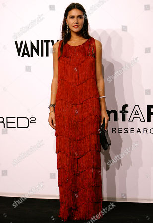 Stock Photo of Margherita Maccapani Misson Margherita Maccapani Missoni arrives for the amfAR charity dinner during the fashion week in Milan, Italy