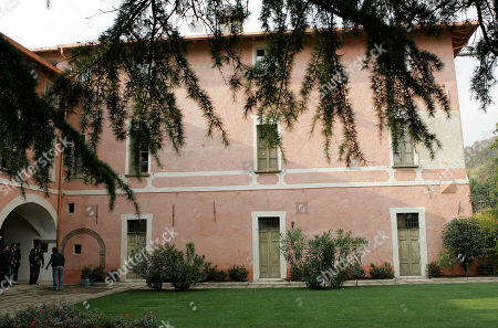 A view of the house where Giovanni Battista Montini, that later became Pope Paul VI, was born in Concesio, near Brescia, Italy, . Pope Benedict XVI will visit the house on Nov. 8, in a visit marking the 30th anniversary of his death