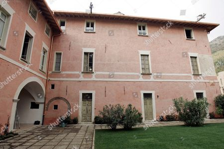 Stock Picture of A view of the house where Giovanni Battista Montini, that later became Pope Paul VI, was born in Concesio, near Brescia, Italy, . Pope Benedict XVI will visit the house on Nov. 8, in a visit marking the 30th anniversary of his death