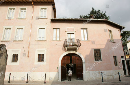 An external view of the house where Giovanni Battista Montini, that later became Pope Paul VI, was born in Concesio, near Brescia, Italy, . Pope Benedict XVI will visit the house on Nov. 8, in a visit marking the 30th anniversary of his death