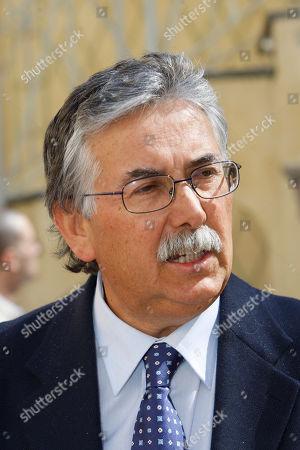 Stock Image of Gian Antonio Stella Italian journalist Gian Antonio Stella attends the Premio Balzan award ceremony, in Milan, Italy