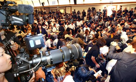 Noriko Sakai Reporters pack a hall as they wait for the arrival of Japanese actress Noriko Sakai for a press conference in Tokyo, Japan, shortly after she was released on bail . The 38-year-old's release on bail came 41 days after she was taken into custody on drug charges, triggering a media frenzy and concerns about growing drug use in Japan's entertainment business