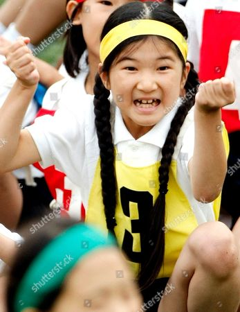 Aiko Japan's Princess Aiko, daughter of Crown Prince Naruhito and Crown Princess Masako, celebrates over her relay team's victory in a race during the annual sports meet at Gakushuin Primary School in Tokyo, Japan. The eight-year-old princess has missed several days of class because of bullying by boys at her school, a spokesman for the royal family said
