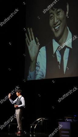 Kim Rae-won South Korean actor Kim Rae-won waves during his Fan Meeting event in Tokyo