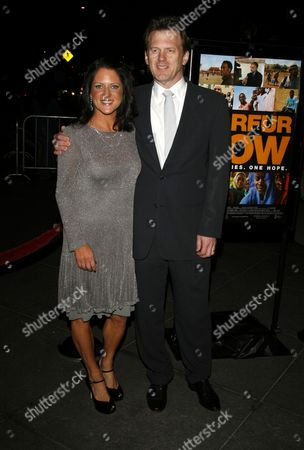 Stock Picture of Cathy Schulman, Ted Braun