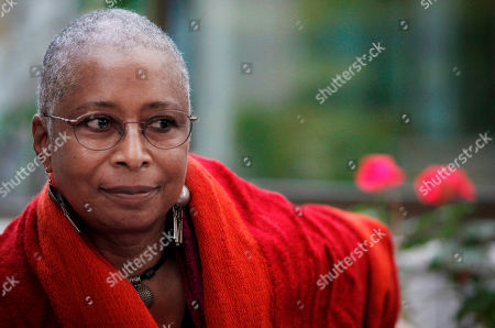 "Alice Walker Pulitzer Prize-winning U.S. writer Alice Walker pauses during an interview with the Associated Press in Gaza City. On June 9, 2012 Walker said in a letter sent to an Israeli daily newspaper an Israeli publisher can't release a new Hebrew edition of her Pulitzer Prize-winning novel, ""The Color Purple,"" because of Israel's treatment of the Palestinian people. Parts of the letter were published June 19, and June 20"