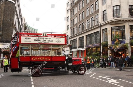 The world's only surviving operational B-type bus returns to its home in time for the reopening of the London Transport Museum.  B-type was London's first reliable, mass-produced motor bus. It was designed in 1910 by Frank Searle, Chief Engineer of the London General Omnibus Company (LGOC). The Museum owns B-type bus No. B340, which was built in 1911, the year the LGOC replaced the last of its horse buses with the successful new motors. It entered service from New Row (Victoria) garage. Many B-types were used as troop transport on the Western Front during the First World War (1914-18), but B340 was used on Home Defence work.