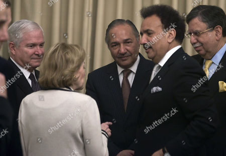 Rehman Malik, Roberts Gates, Anne Patterson, Ahmad Mukhtar, Shaukat Tarin Pakistani Ministers from right, Shaukat Tarin, Rehman Malik and Ahmad Mukhtar listens to Anne Patterson, US ambassador in Pakistan as US Secretary of Defense Robert Gates looks on in Islamabad, Pakistan on . The Pakistani army said Thursday that it cannot launch any new offensives against militants for six months to a year to give it time to stabilize existing gains. Pakistan Defense Minister Ahmad Mukhtar seen second from right