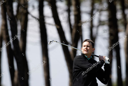 Peter Lawrie Peter Lawrie, from Ireland, tees off during the first round of the Estoril Open de Portugal, at the Oitavos Dunes golf course in Cascais, outside Lisbon