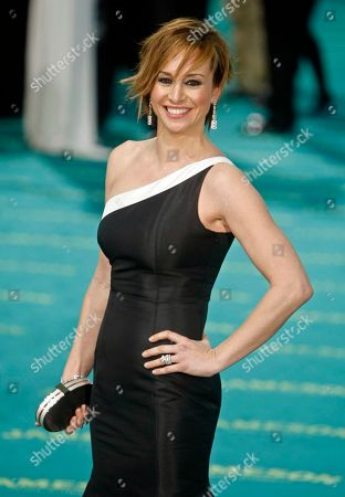 Mar Regueras Spanish actress Mar Regueras poses on arrival at the XXIII edition of the annual Goya film awards in Madrid
