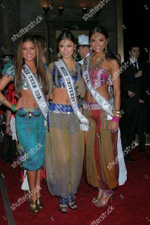 Hilary Cruz, Riyo Mori and Rachel Smith