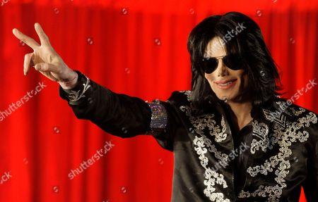 Editorial image of TV-Michael Jackson