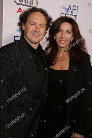 Mark Isham and wife