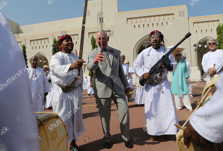 Editorial image of Mideast Oman Britain Royal Visit, Muscat, Oman - 05 Nov 2016