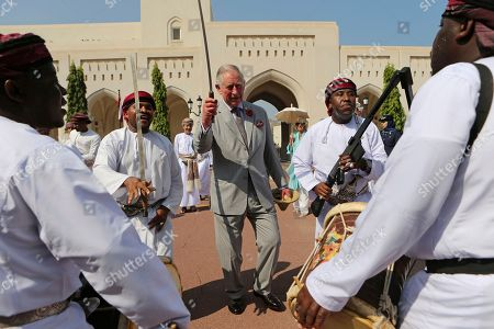 Editorial photo of Mideast Oman Britain Royals, Muscat, Oman - 05 Nov 2016