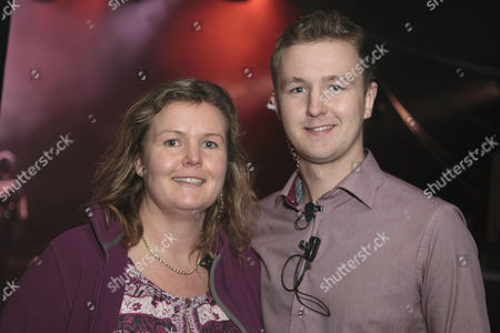 James Ellis and his mother