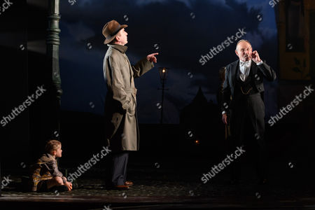 Liam Brennan (Inspector Goole), Clive Francis (Mr Birling)