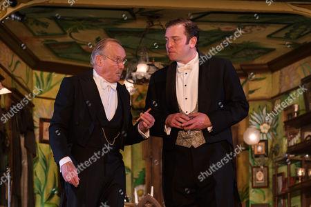 Clive Francis (Mr Birling), Matthew Douglas (Gerald Croft)