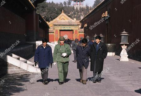 Hutung (lane) scene on Liu Le Chang