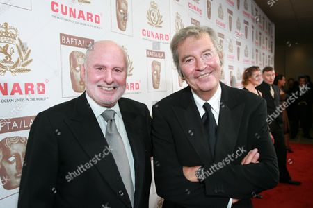 New Line Cinema's Michael Lynne and Bob Shaye