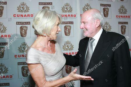 Helen Mirren and New Line Cinemas Michael Lynne