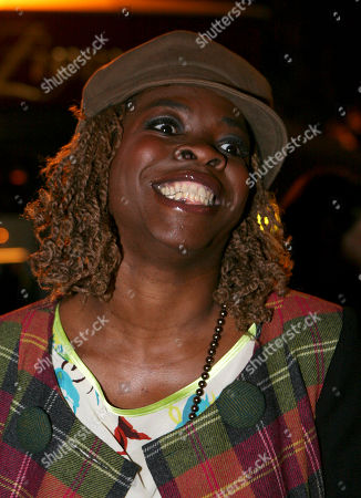 Stock Photo of Princess Erika French actress and singer Princess Erika arrives at the Afro-Caribbean Arts trophy in Paris, Tuesday Sept.23, 2008. The ceremony awards black artists