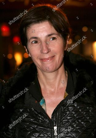 Christine Angot French novelist Christine Angot arrives at the Afro-Caribbean Arts trophy in Paris, Tuesday Sept.23, 2008. The ceremony awards black artists