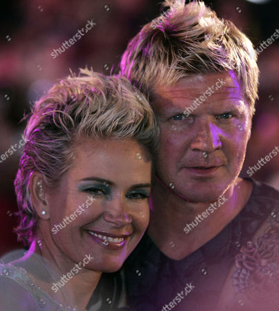 Claudia Effenberg, Stefan Effenberg German soccer player Stefan Effenberg and his wife Claudia, from right, arrive for the 16th annual Life Ball in front of Vienna's city hall, on . The Life Ball is a charity gala where organizers raise money for people living with HIV and AIDS