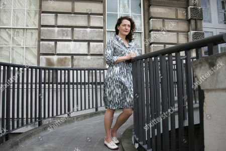 """Stock Photo of Helen Simpson English writer Helen Simpson poses at Somerset House in London, . Simpson's latest short story collection, """"In The Driver's Seat,"""" (published in Britain as """"Constitutional"""") joins earlier volumes in dissecting the lives of mostly middle-class _ and increasingly middle-aged _ men and women"""