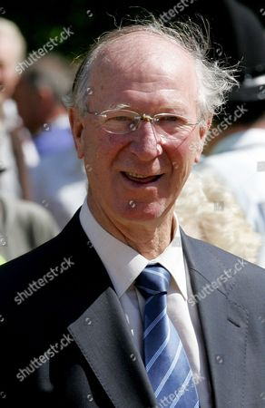 Jack Charlton Former England soccer player Jackie Charlton arrives for the funeral of England teammate Alan Ball at Winchester Cathedral in Winchester, England