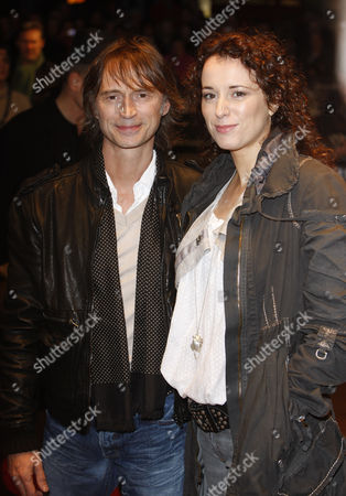 Stock Picture of Actor Robert Carlyle and his wife Anastasia Shirley arrive for The Times BFI London Film Festival screening of 'I Know You Know' in London