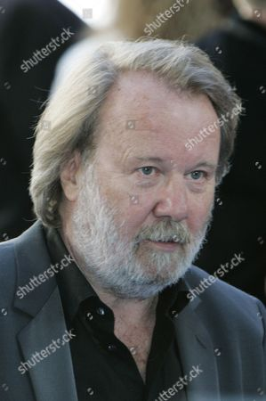 Benny Andersson Former Abba singer Benny Andersson poses for the photographers as they arrives for the world premiere of the movie 'Mamma Mia', at a cinema in central London's Leicester Square, . Anderson was the executive producers of the movie