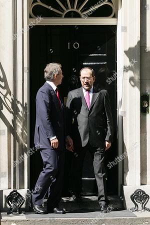 Nouri Kamil al-Maliki, Tony Blair British Prime Minister Tony Blair, left, says goodbye to Iraqi Prime Minister Nouri Kamil al-Maliki after a meeting and a joint press conference at 10 Downing Street, London